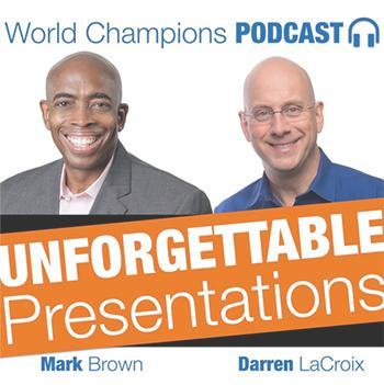 Public Speaking Podcast / Mark Brown & Darren LaCroix